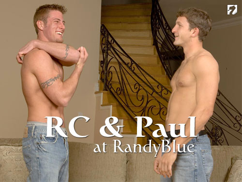 RC and Paul at Randy Blue