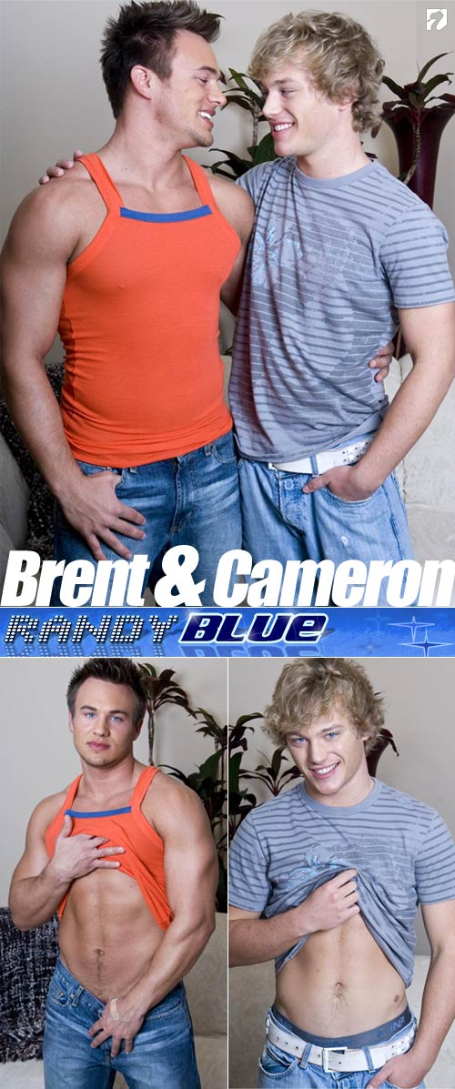 Brent Diggs & Cameron Michaels at Randy Blue