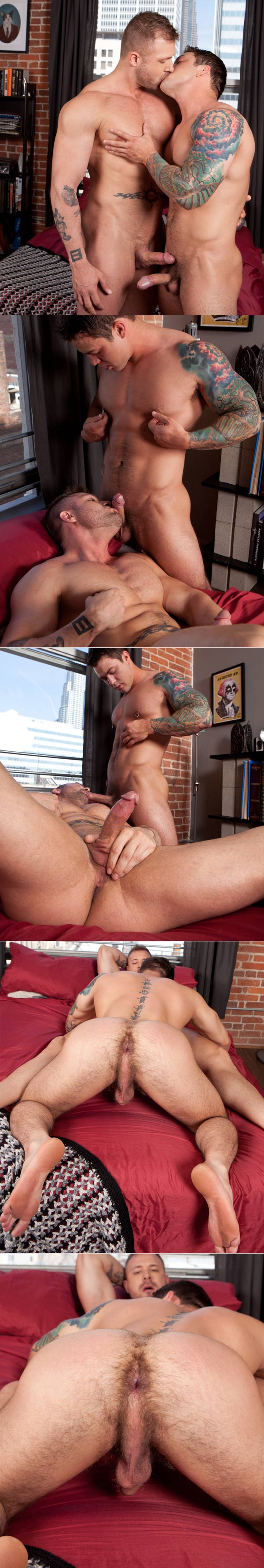 Caleb Strong & Austin Wolf at RandyBlue