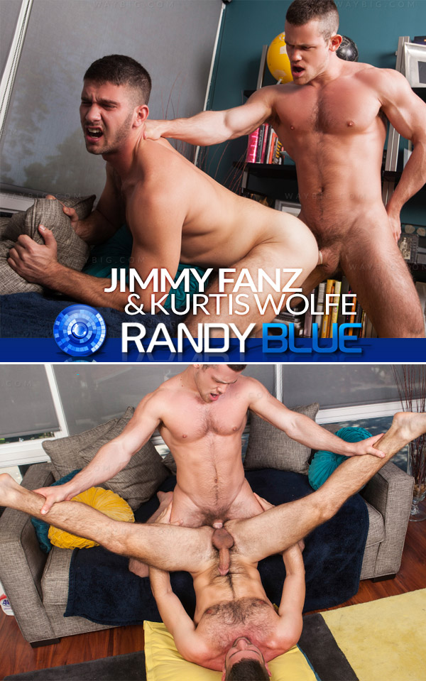 Jimmy Fanz & Kurtis Wolfe at Randy Blue