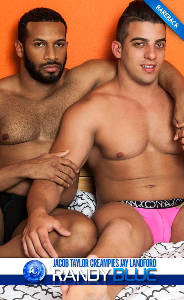 Jacob Taylor Creampies Jay Landford (Bareback) at RandyBlue
