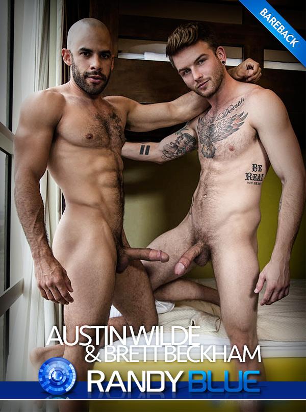 Austin Wilde Fucks Brett Beckham (Bareback) at Randy Blue