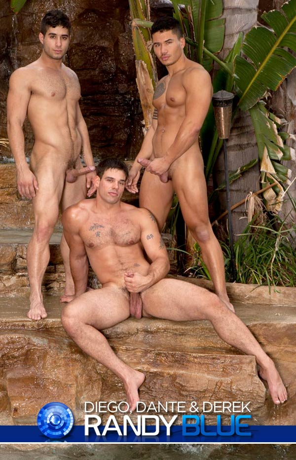 Diego Sans, Dante Ferraro and Derek Atlas at RandyBlue