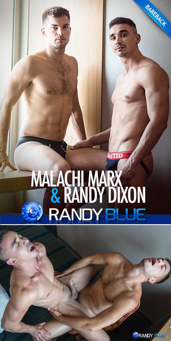 Malachi Marx Creampies Randy Dixon (Bareback) at Randy Blue