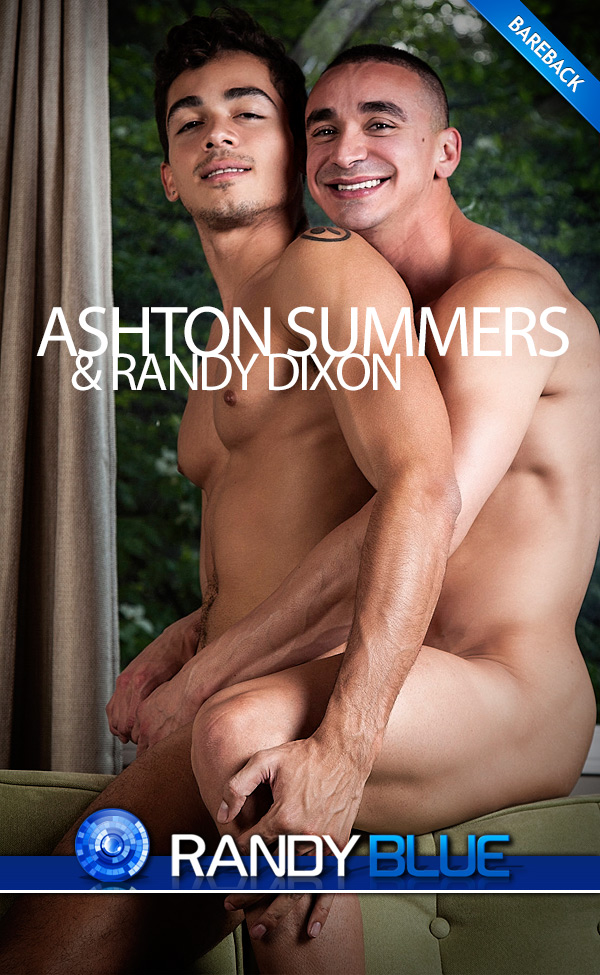 Randy Dixon Fucks Ashton Summers (Bareback Quickie) at RandyBlue