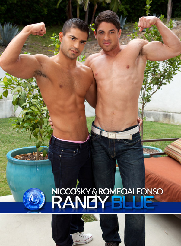 Nicco Sky & Romeo Alfonso at RandyBlue