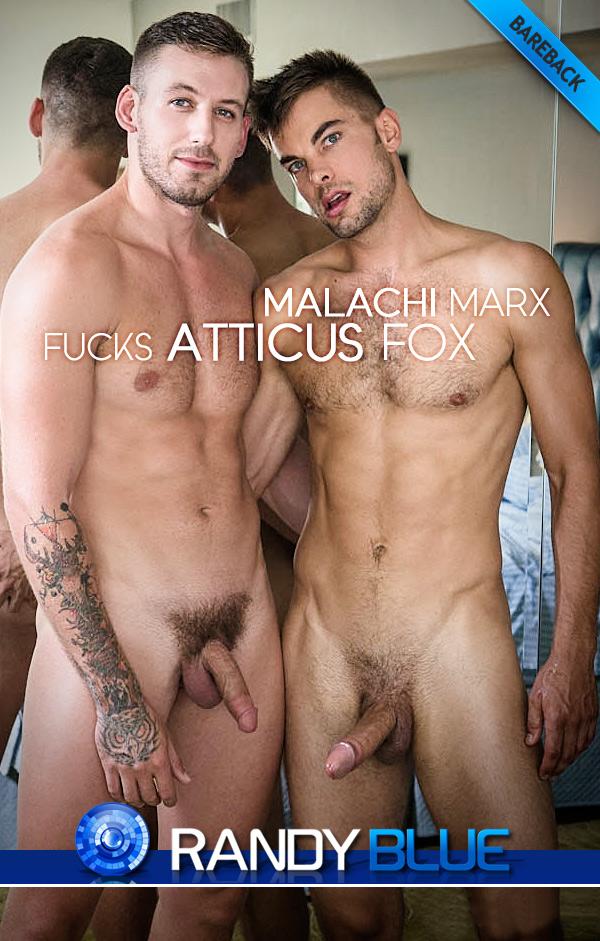 Malachi Marx Fucks Atticus Fox (Bareback) at Randy Blue