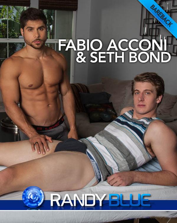 Fabio Acconi Massages and Fucks Seth Bond  at Randy Blue