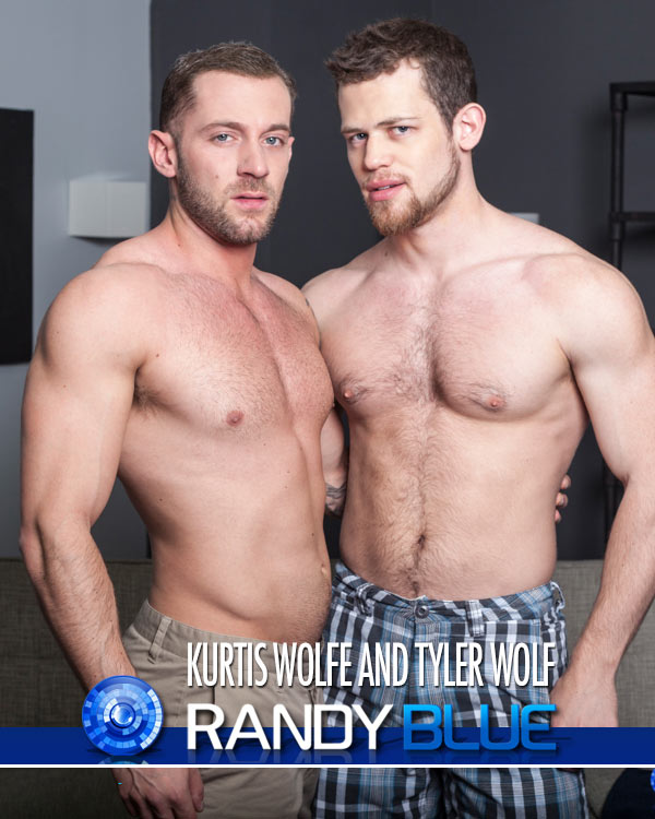 Kurtis Wolfe and Tyler Wolf at Randy Blue