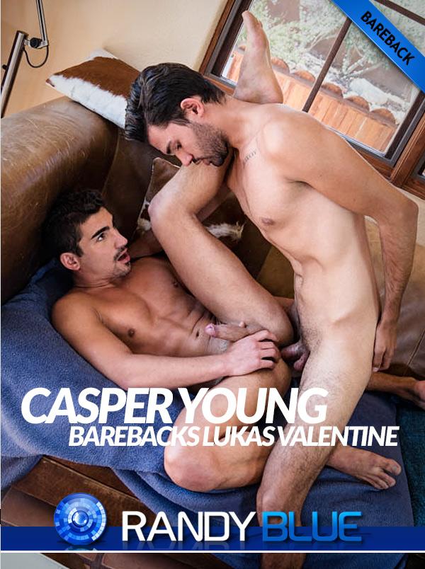 All My Friends are Sluts (Casper Young Fucks Lukas Valentine) (Part 2) (Bareback) at Randy Blue