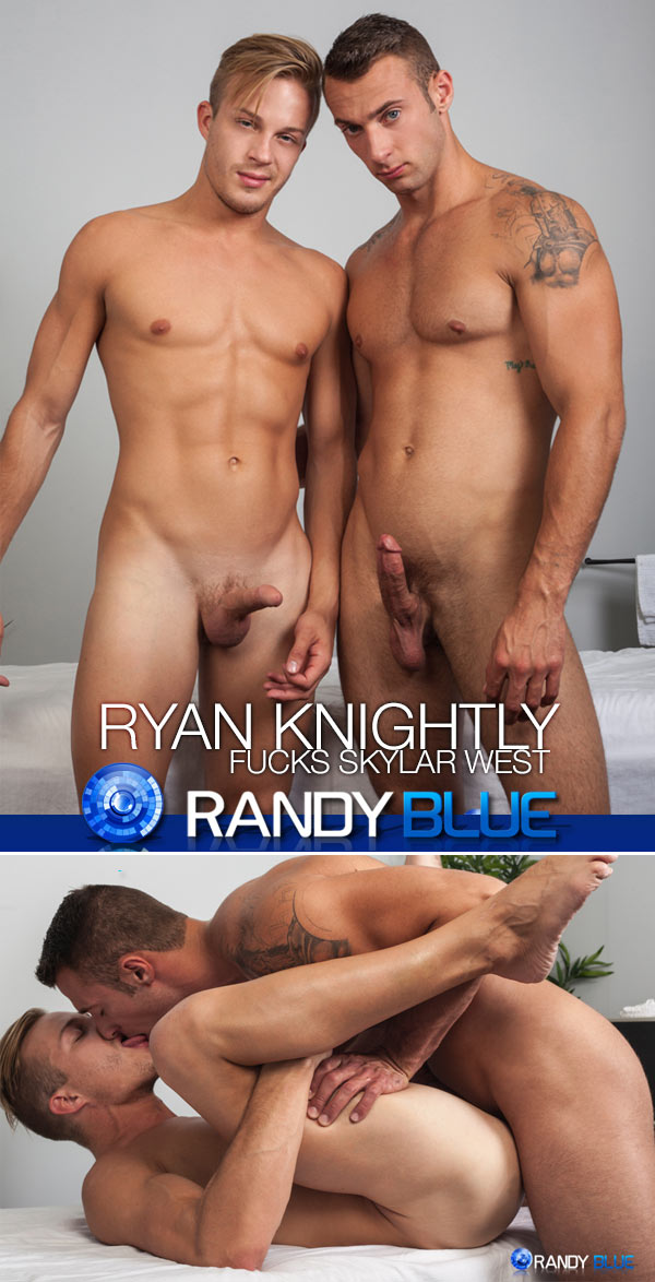Ryan Knightly Fucks Skylar West at Randy Blue