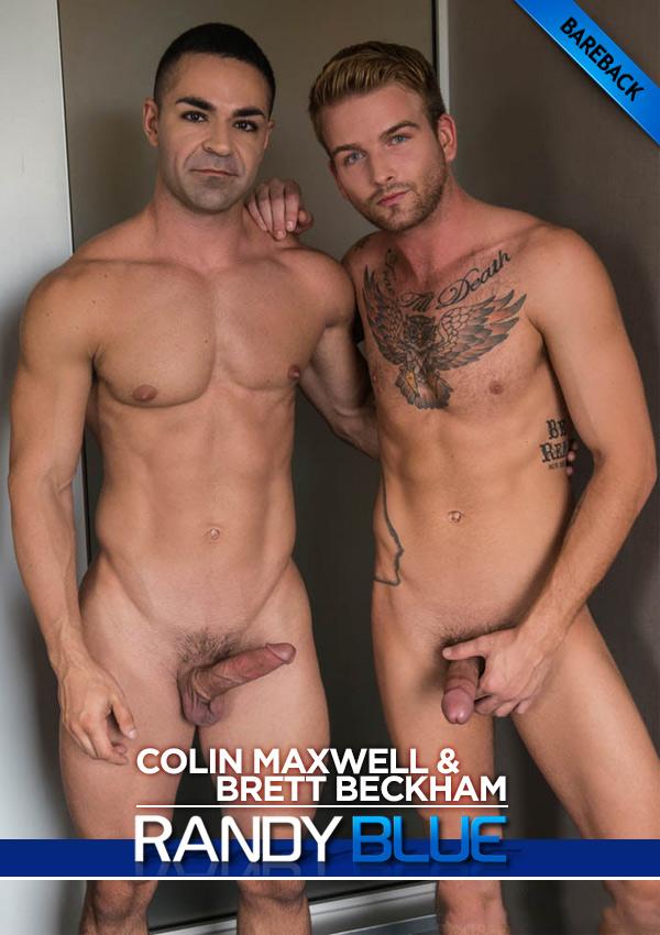 Colin Maxwell Fucks Brett Beckham Bareback at Randy Blue