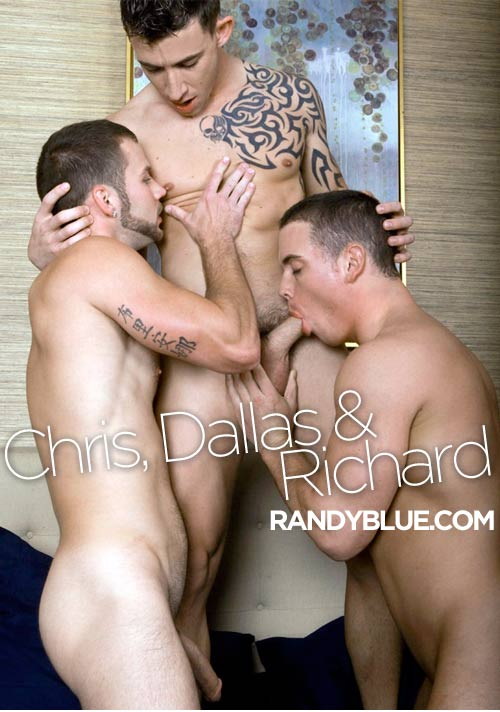 Chris Bines, Dallas Evans & Richard Pierce at Randy Blue