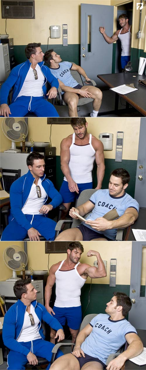 The Coach 2 (Starring Reese Rideout, Chris Rockway & Jeremy Walker) at Randy Blue