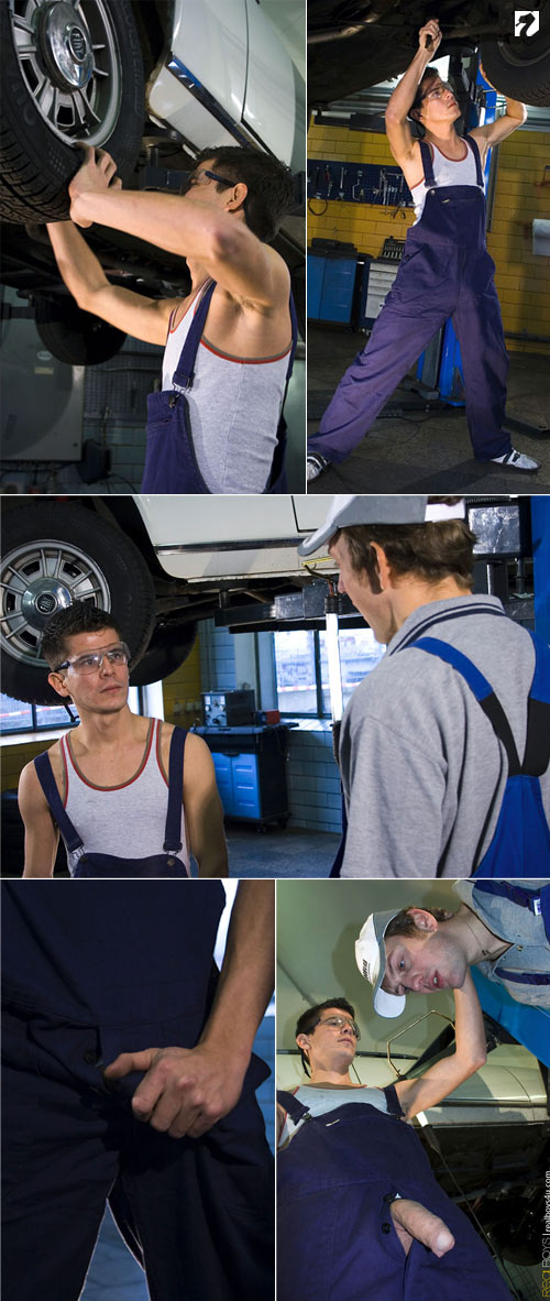 Chris + Christoph at RealBoys4U