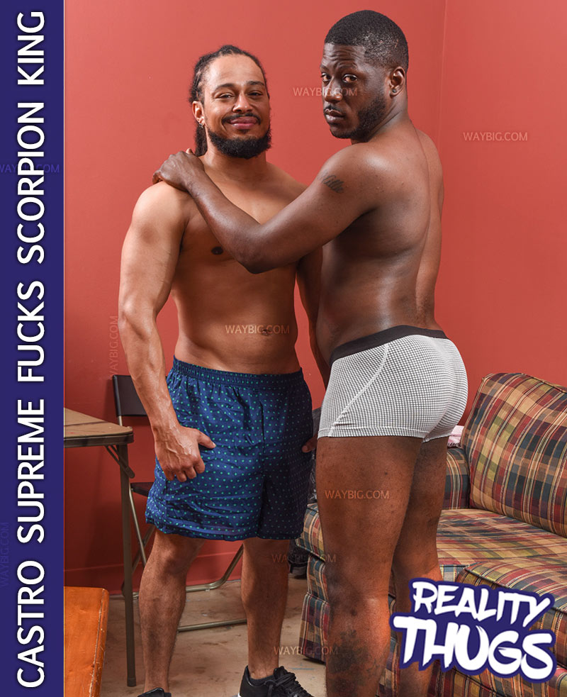 Castro Supreme Fucks Scorpion King at RealityDudesNetwork