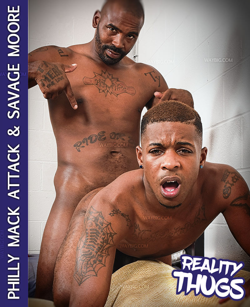Philly Mack Attack Fucks Savage Moore at RealityDudesNetwork