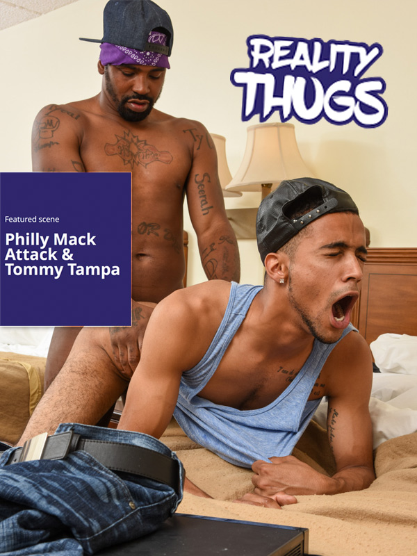 Philly Mack Attack Fucks Tommy Tampa at RealityDudesNetwork