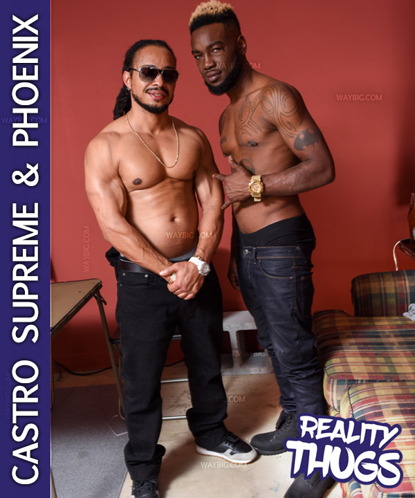 Castro Supreme Fucks Phoenix at RealityDudesNetwork