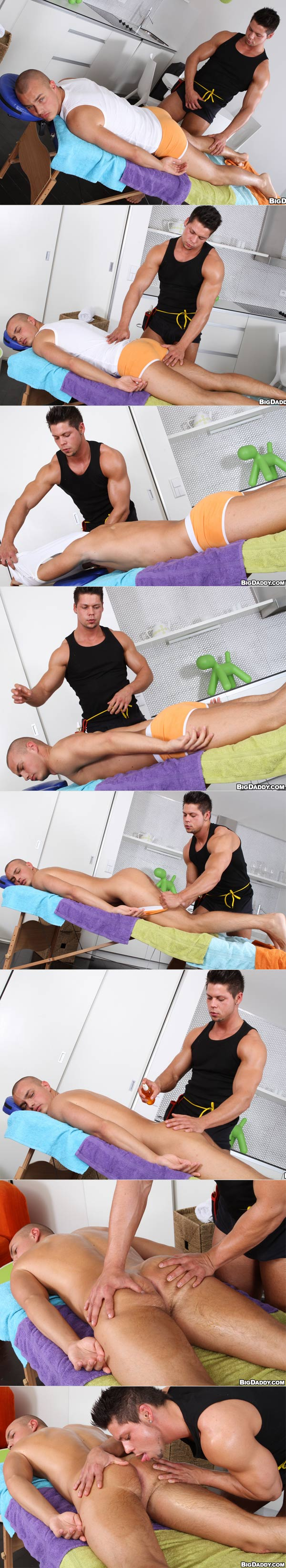 Muscles Feel Good On A Man's Ass at RubHim.com