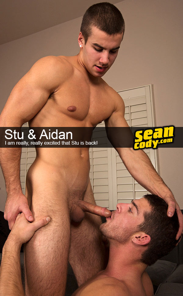 Stu & Aidan at SeanCody