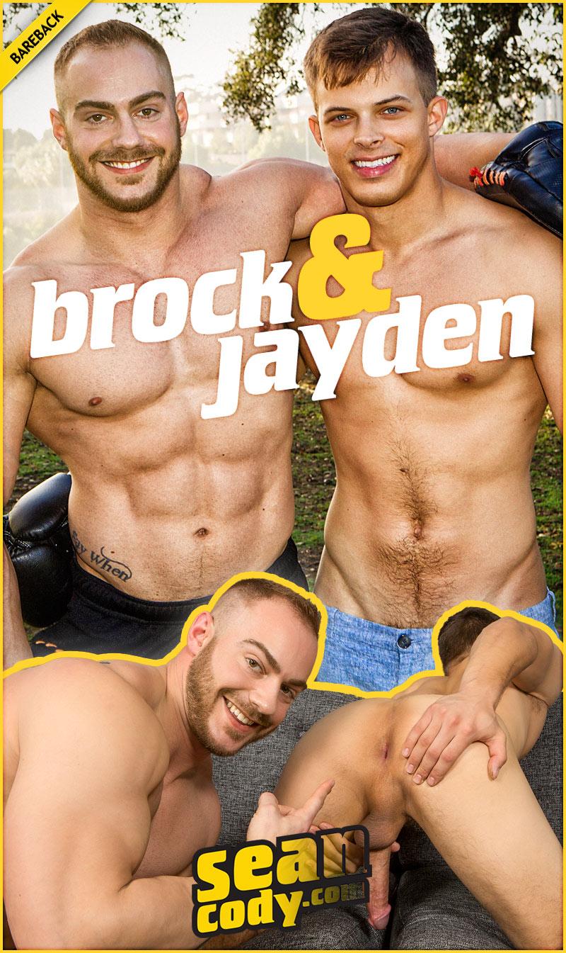 Brock Fucks Jayden (Bareback) at SeanCody