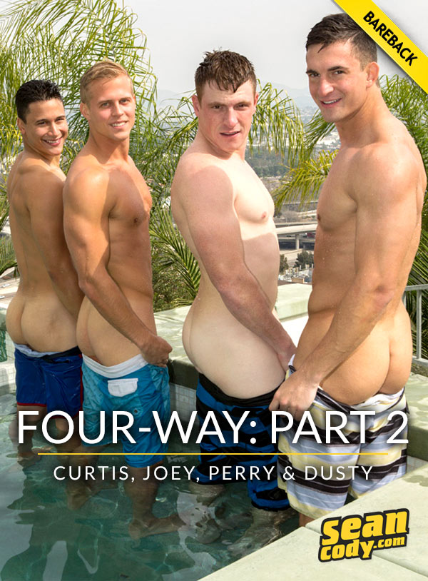 Four-Way: Part 2 (Curtis, Joey, Perry and Dusty) at SeanCody