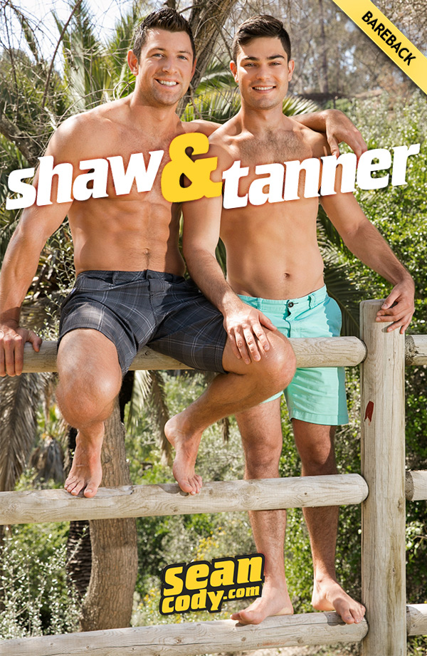 Shaw's First Time Bottoming (Bareback Flip-Fuck with Tanner) at SeanCody