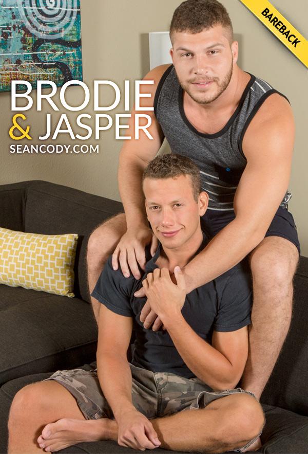 Brodie Fucks Newcomer Jasper (Bareback) at SeanCody
