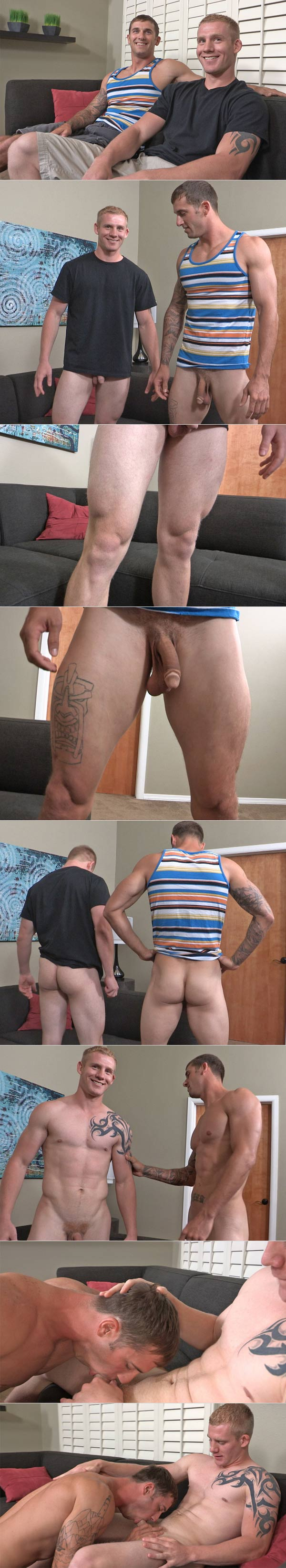 Tim & Peter (Bareback) at SeanCody
