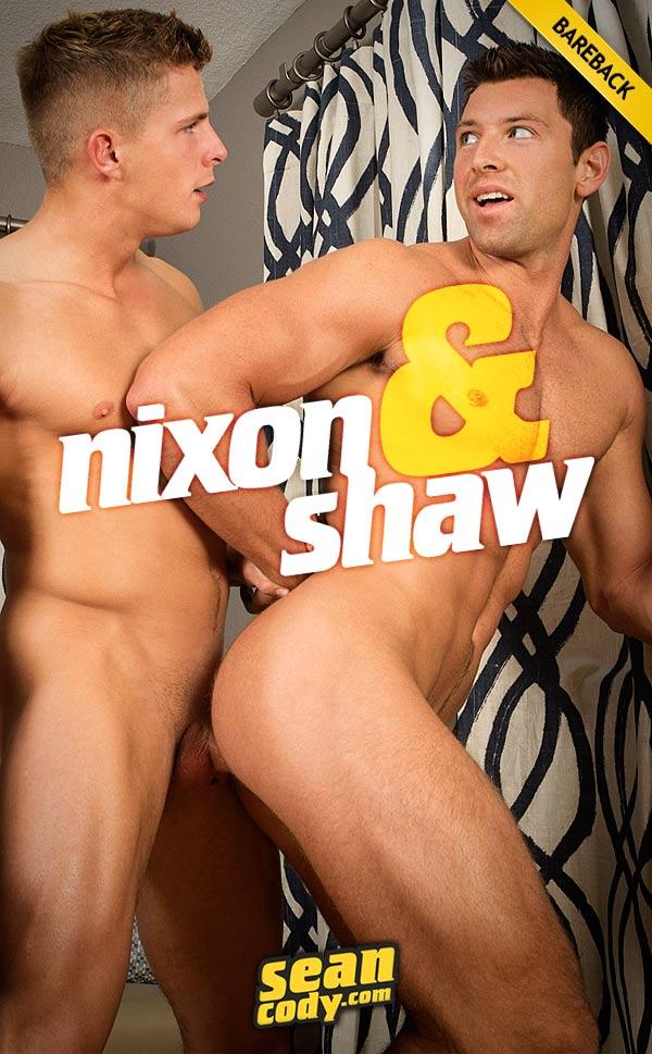 Nixon Fucks Shaw (Bareback) at SeanCody