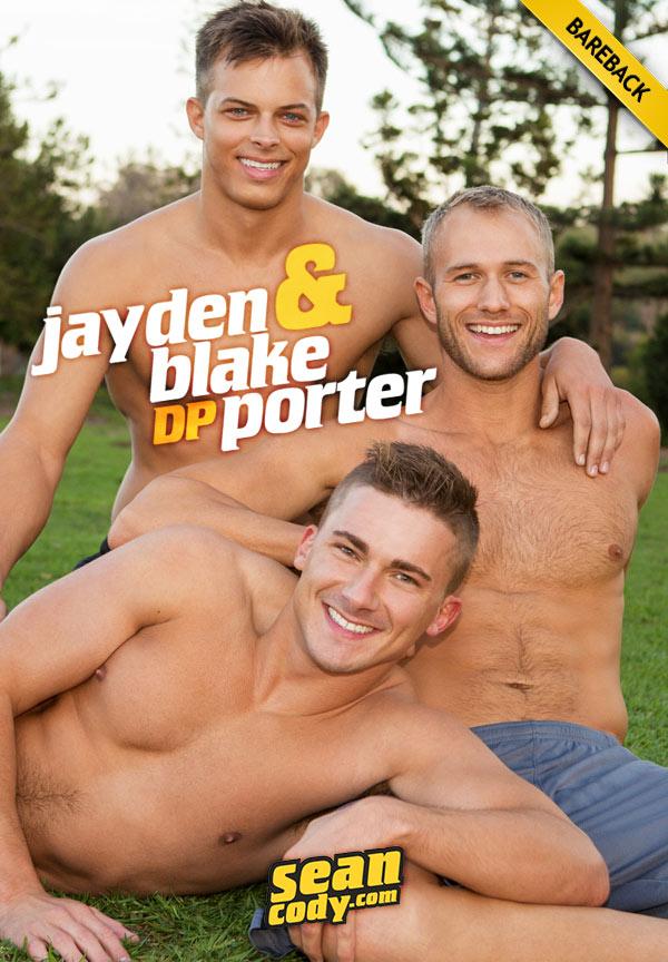 Blake, Jayden & Porter (Bareback 3-Way) at SeanCody