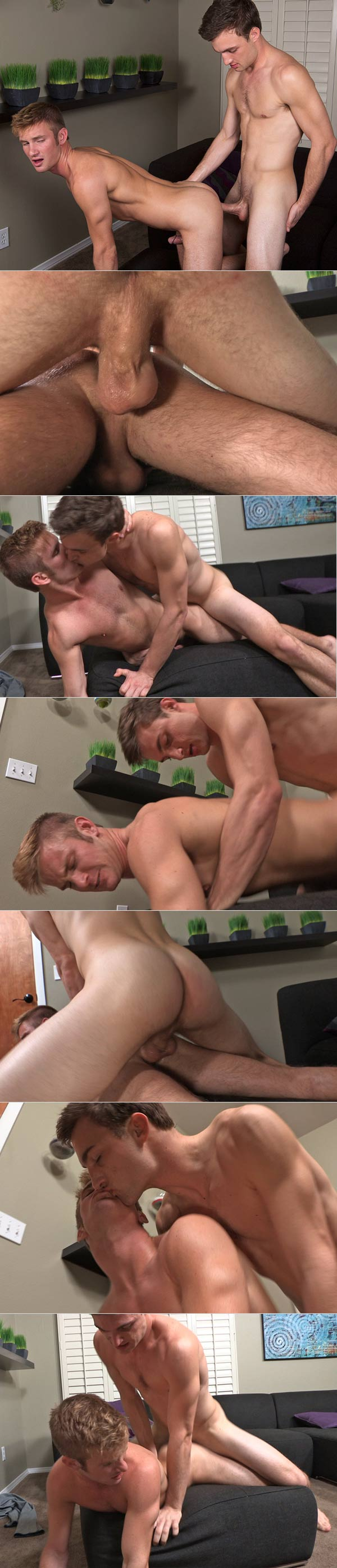 Rich & Miles (Bareback) at SeanCody