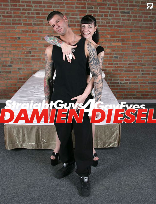 Damien Diesel at Straight Guys for Gay Eyes