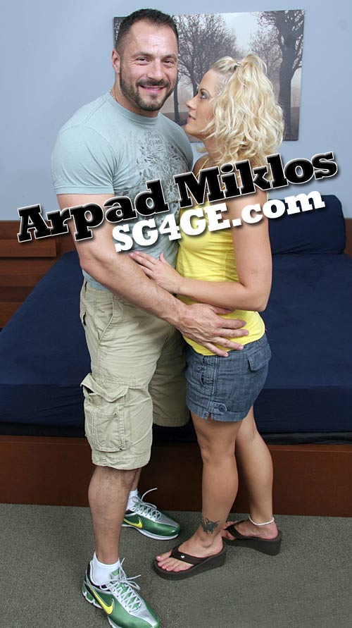 Arpad Miklos (Straight For Pay) at StraightGuys4GayEyes