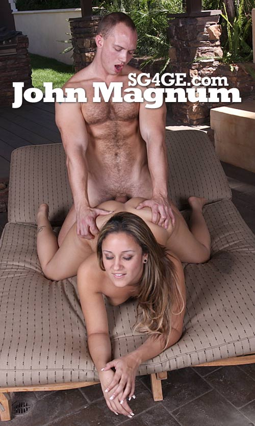 John Magnum II at StraightGuys4GayEyes