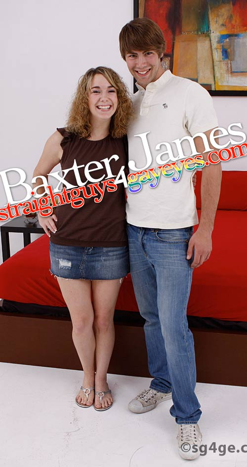 Baxter James at StraightGuys4GayEyes