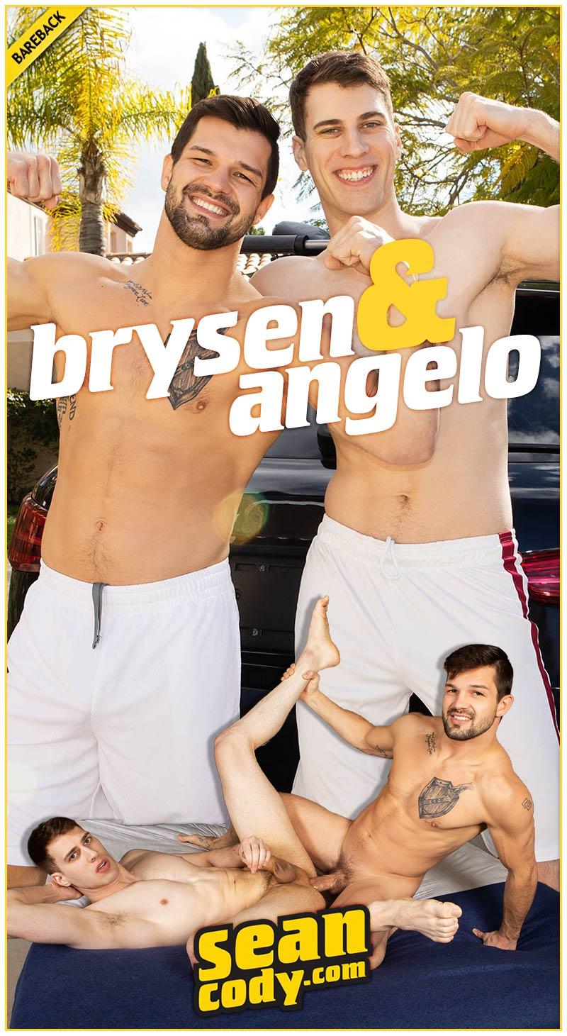 Brysen Fucks Angelo (Bareback) at SeanCody