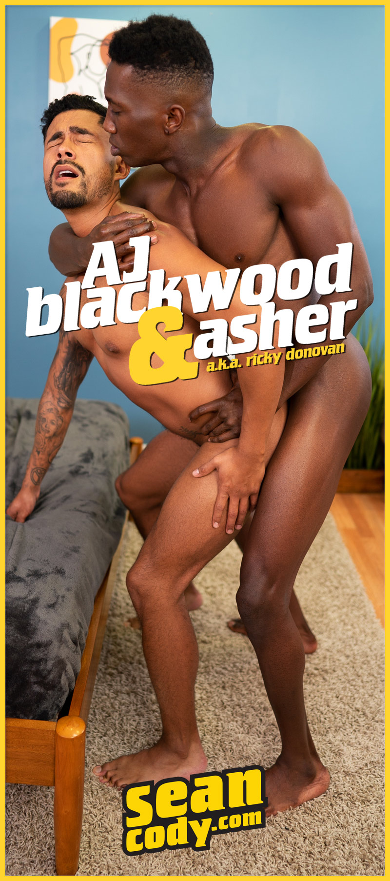 AJ Blackwood Fucks Asher (a.k.a. Ricky Donovan) at SeanCody