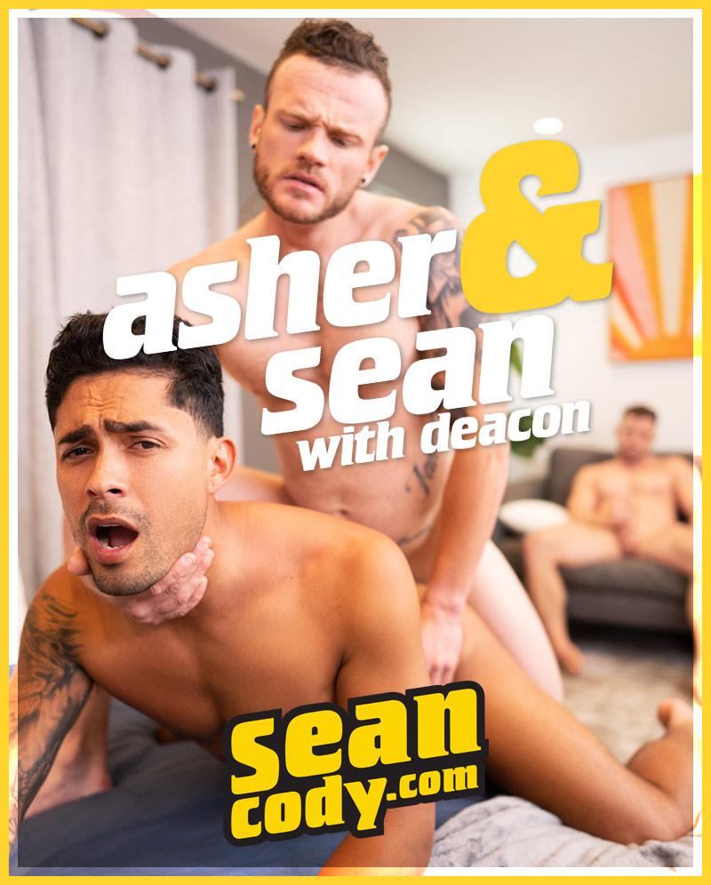 Deacon a.k.a. Johnny Donovan Watches as Sean Fucks Asher a.k.a. Ricky Donovan) at SeanCody