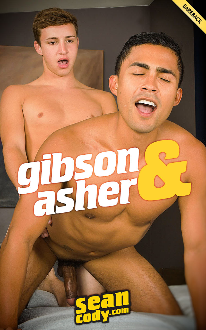 Gibson Fucks Asher (Bareback) at SeanCody