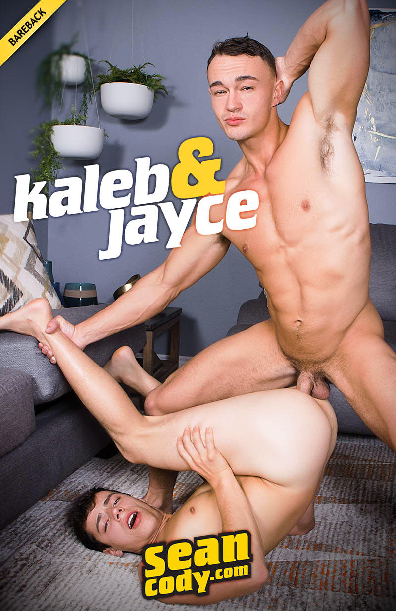Jayce Fucks Kaleb Bareback at SeanCody