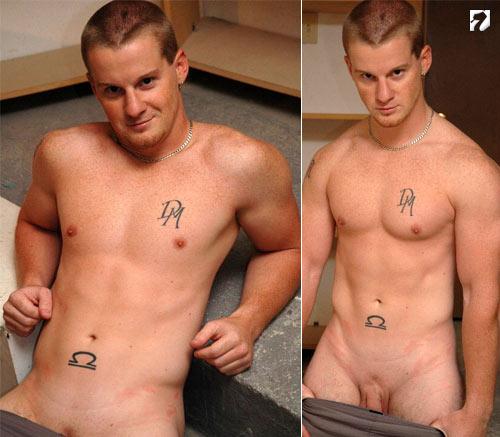College Jock Chris Strips at ShaneSixty