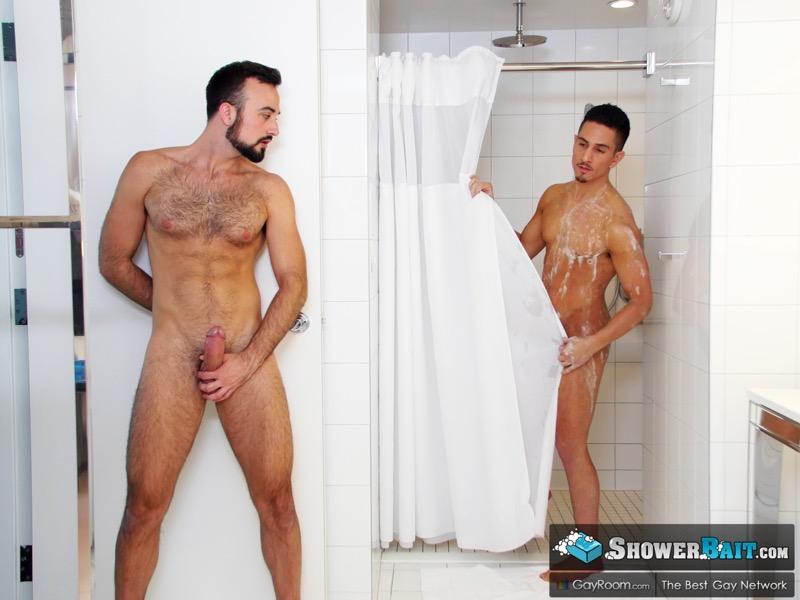 Wet Muscle Crave (Beau Taylor Fucks Mason Lear) at Shower Bait
