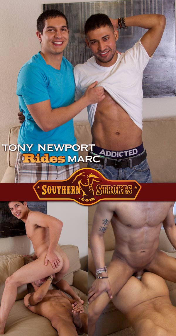 Marc Jacob & Tony Newport at Southern Strokes