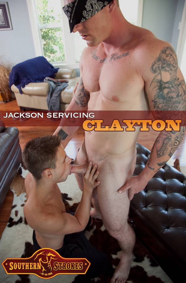 Servicing Clayton Jasper at Southern Strokes