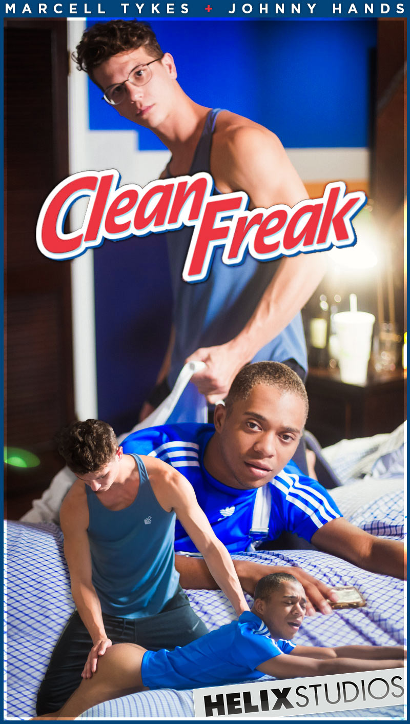 Clean Freak (Johnny Hands Spanks Marcell Tykes) at SpankThis!