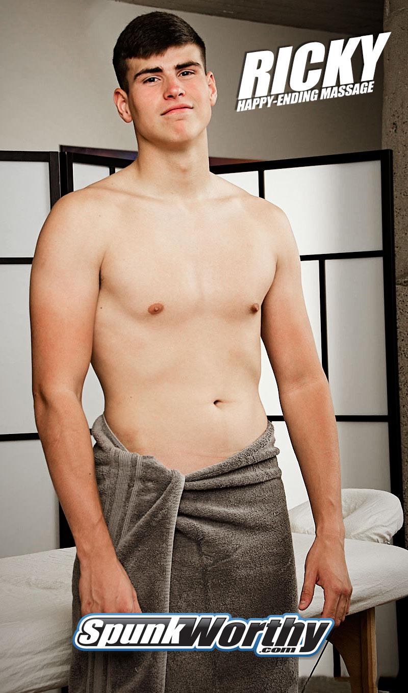 Ricky (Tall Marine Get's A Happy-Ending Massage) at SpunkWorthy.com