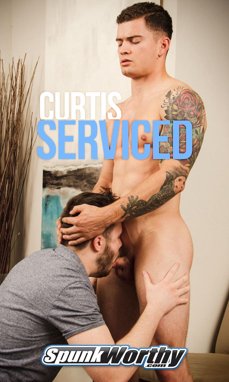 Curtis Serviced at SpunkWorthy.com