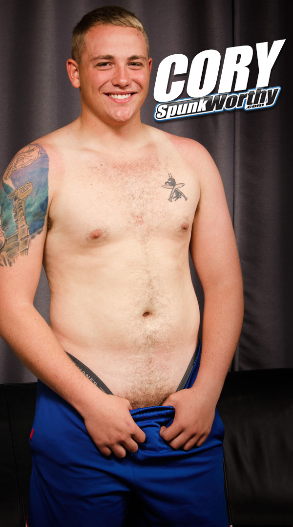 Cory (Str8 and Stocky Military Dude) at SpunkWorthy.com